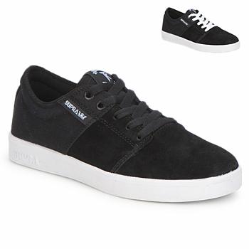 Chaussures Baskets basses Supra STACKS II Noir / Blanc