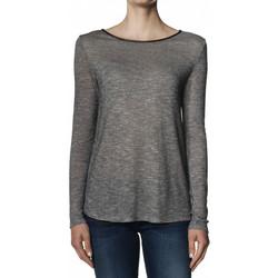 Vêtements Femme T-shirts manches longues Salsa T-Shirt  THAILAND manches longues gris Noir