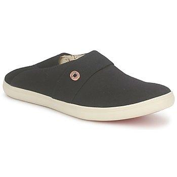 Chaussures Slip ons Dragon Sea XIAN TOILE Noir