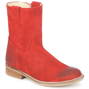 Chaussures Fille Boots Hip DIRAN Rouge