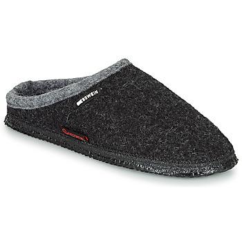 Chaussures Homme Chaussons Giesswein DANNHEIM Anthracite