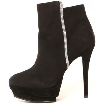 Chaussures Femme Bottines Ilario Ferucci Bottines Fabienne Noir Noir