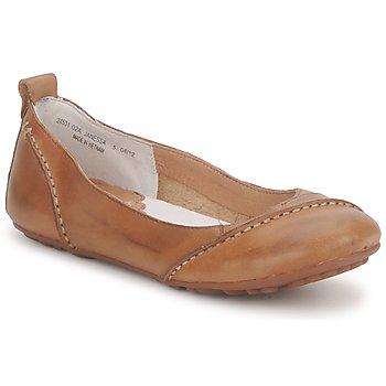 Chaussures Femme Ballerines / babies Hush puppies JANESSA Marron