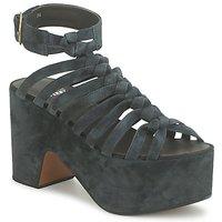 Chaussures Femme Sandales et Nu-pieds Michel Perry 12676 DARK
