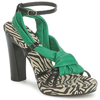 Chaussures Femme Sandales et Nu-pieds Michel Perry 12709 EMERAUDE