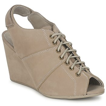 Chaussures Femme Low boots No Name DIVA OPEN TOE Beige