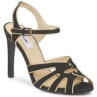 Chaussures Femme Sandales et Nu-pieds Moschino MA1604 000-NOIR