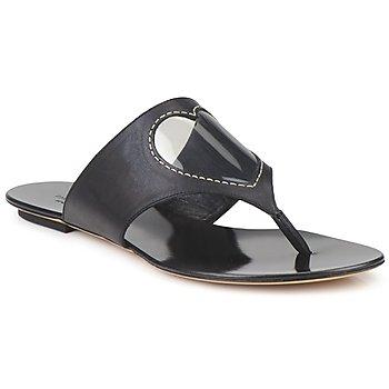 Chaussures Femme Tongs Moschino Cheap & CHIC CALOTROPIS NOIR