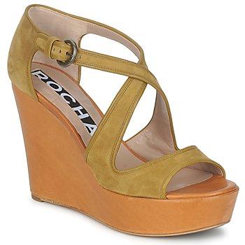 Chaussures Femme Sandales et Nu-pieds Rochas RO18131 Marron