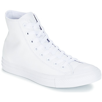 Chaussures Baskets montantes Converse CHUCK TAYLOR ALL STAR CUIR HI Blanc