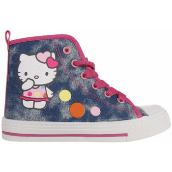 Chaussures Fille Baskets montantes Hello Kitty 324420-31 HK JIL Azul