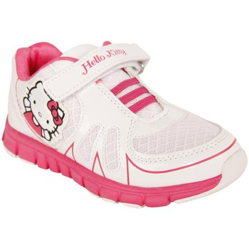 Chaussures Fille Baskets basses Hello Kitty 410331-31 HK LIREMI Blanco