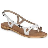Chaussures Femme Sandales et Nu-pieds Les Tropéziennes par M Belarbi ISATIS Blanc