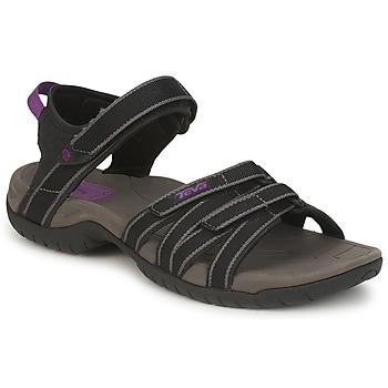 Chaussures Femme Sandales sport Teva TIRRA Noir / Gris