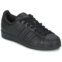 Chaussures Homme Baskets basses adidas Originals SUPERSTAR FOUNDATIO Noir