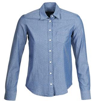 Vêtements Femme Chemises / Chemisiers Gant EXUNIDE Bleu