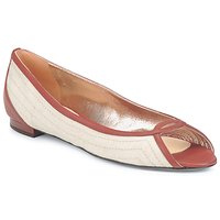 Chaussures Femme Ballerines / babies Azzaro JOUR Beige/Camel