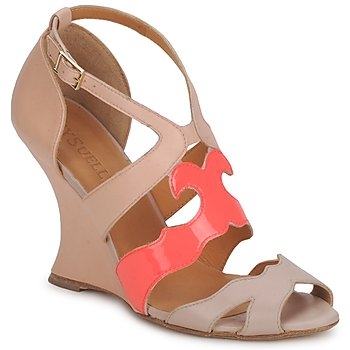 Chaussures Femme Sandales et Nu-pieds MySuelly PAULINE Taupe / Grenadine