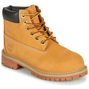 Chaussures Enfant Boots Timberland 6 IN PREMIUM WP BOOT Cognac