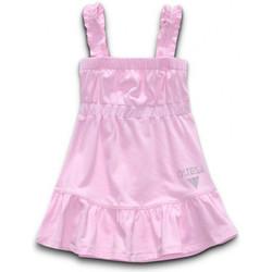 Vêtements Fille Robes Guess Robe  SL DRESS Rose Noir