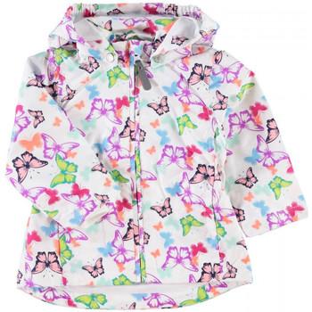 Vêtements Fille Blousons Name It Kids Veste  Mello Blanc Noir