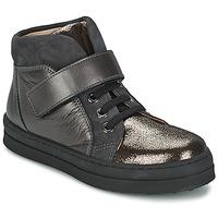 Chaussures Fille Baskets basses Unisa CALATA Gris / Noir