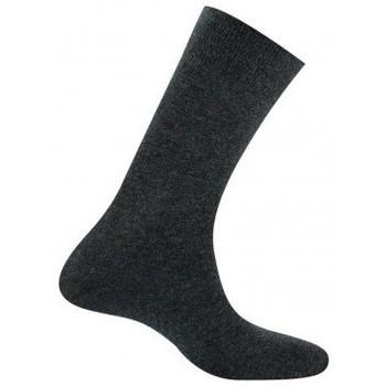Accessoires Homme Chaussettes Kindy Mi-chaussettes homme jersey unie pur coton Anthracite