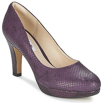 Chaussures Femme Escarpins Clarks CRISP KENDRA Violet