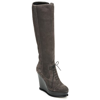 Chaussures Femme Bottes ville Moschino Cheap & CHIC CA2603 Taupe
