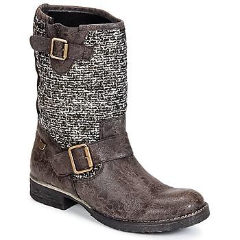 Chaussures Femme Boots Lollipops VICTOIRE BOOTS 3 Chocolat