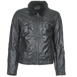 Vêtements Homme Vestes en cuir / synthétiques Teddy Smith BLEATHER Noir