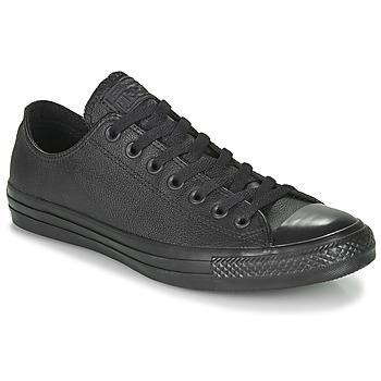 Chaussures Baskets basses Converse CHUCK TAYLOR ALL STAR CUIR  OX Noir