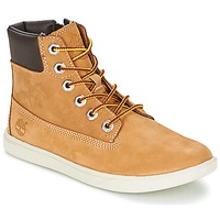 Chaussures Enfant Baskets montantes Timberland GROVETON 6IN LACE WITH SIDE ZIP Blé
