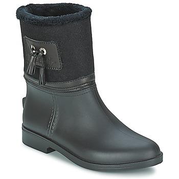 Chaussures Femme Bottes de pluie Be Only DIVINE Noir