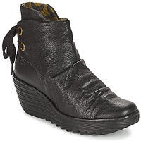 Chaussures Femme Baskets basses Fly London YAMA BLACK