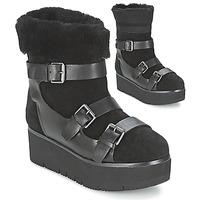 Chaussures Femme Boots Ash ZAZIE Noir