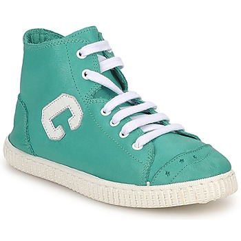 Chaussures Fille Baskets montantes Chipie SARTANE Turquoise