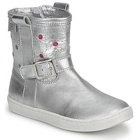 Chaussures Fille Boots Pinocchio  silver - fuxia