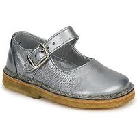Chaussures Fille Ballerines / babies Pinocchio LIANIGHT Argenté