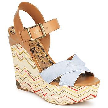 Chaussures Femme Sandales et Nu-pieds Sam Edelman SASHA DENIM-WASHED