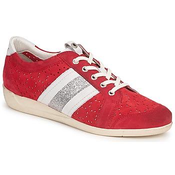 Chaussures Femme Baskets basses Janet Sport MARGOT ODETTE Rouge