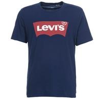 Vêtements Homme T-shirts manches courtes Levi's GRAPHIC SET-IN Marine