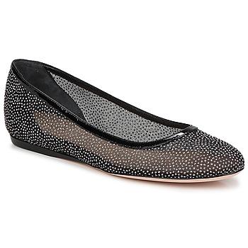 Chaussures Femme Ballerines / babies Sebastian GLIME Noir