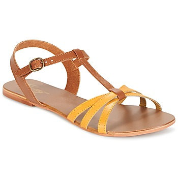 Chaussures Femme Sandales et Nu-pieds Betty London IXADOL Jaune / Camel