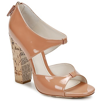 Chaussures Femme Sandales et Nu-pieds John Galliano AN6364 Rose / Beige