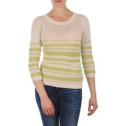 Vêtements Femme Pulls Marc O'Polo ESTER Blanc / Jaune