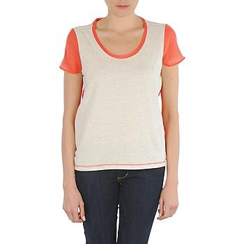 Vêtements Femme T-shirts manches courtes Eleven Paris EDMEE Beige / orange
