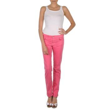 Vêtements Femme Pantalons 5 poches Gant DANA SPRAY COLORED DENIM PANTS Rose