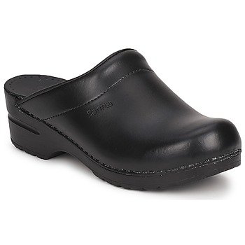 Chaussures Sabots Sanita SONJA OPEN Noir