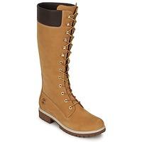 Chaussures Femme Bottes ville Timberland WOMEN'S PREMIUM 14IN WP BOOT Cognac
